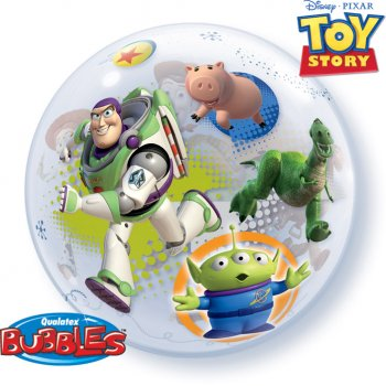 Bubble ballon à plat Toy Story