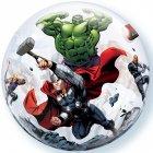 Bubble ballon à plat Avengers