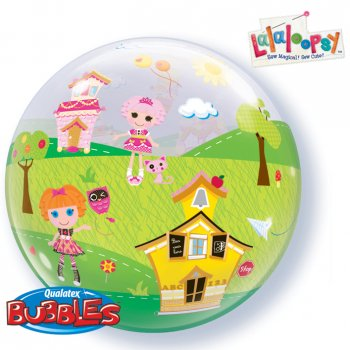 Bubble ballon à plat Lalaloopsy