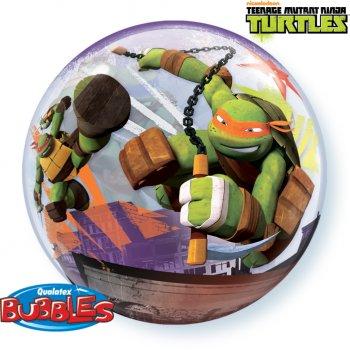Bubble ballon à plat Tortue Ninja