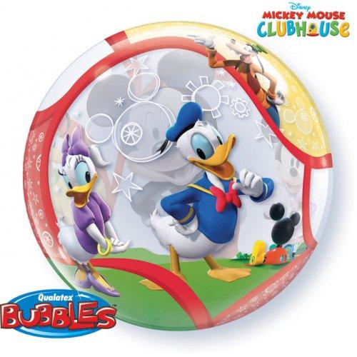 Bubble ballon Gonflé à l Hélium Mickey et ses amis