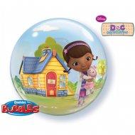 Bubble ballon Hélium Dr La Peluche