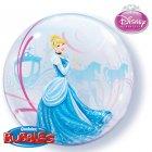 Bubble ballon H�lium Cendrillon