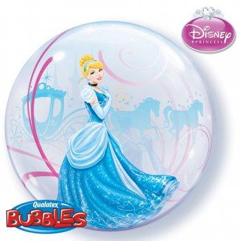 Bubble ballon Hélium Cendrillon