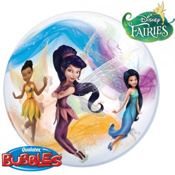 Bubble ballon Hélium Fairies