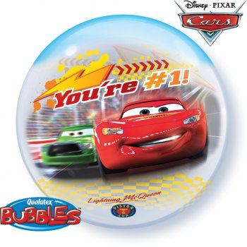 Bubble ballon Hélium Cars