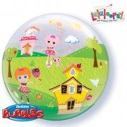 Bubble ballon Gonflé à l'Hélium Lalaloopsy