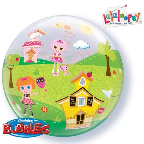 Bubble ballon Hélium Lalaloopsy