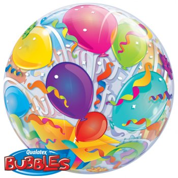Bubble ballon Hélium Happy Birthday Ballons