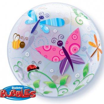 Bubble ballon Hélium Papillon