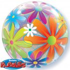 Bubble ballon Hélium Flower