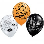 Assortiment de 25 ballons Halloween