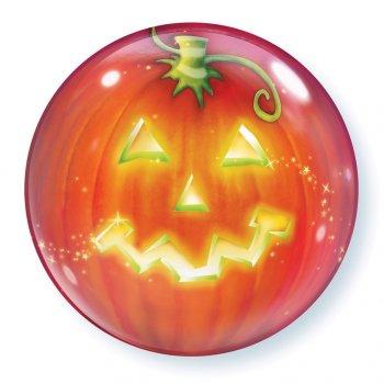 Bubble Ballon à plat Halloween Citrouille