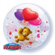 Bubble Ballon Hélium Ourson
