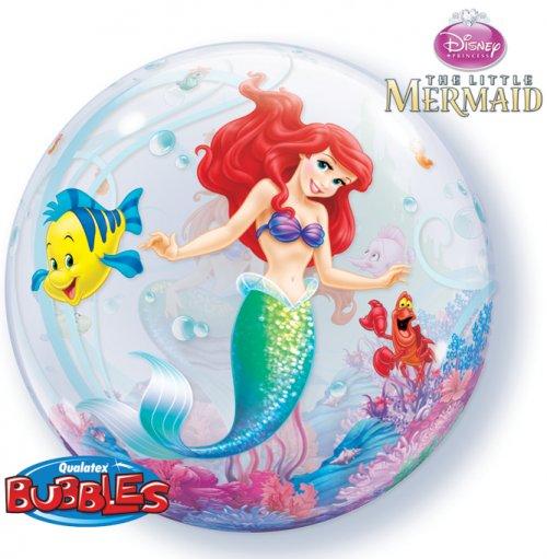 Bubble ballon Ariel