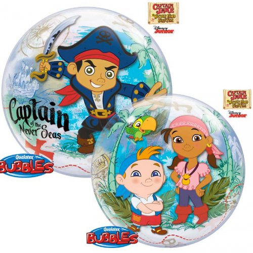 Bubble ballon Captain Jake le Pirate