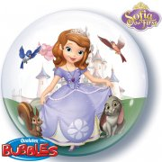 Bubble ballon Hélium Princesse Sofia