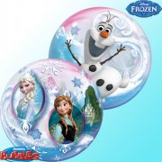 Bubble Ballon H�lium Reine des Neiges