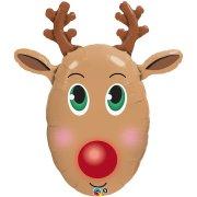 Ballon G�ant Renne du P�re Noel