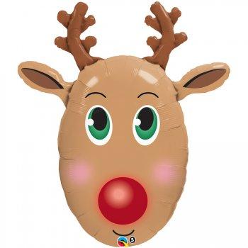 Ballon Géant Renne du Père Noel
