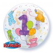Bubble Ballon Hélium 1 An
