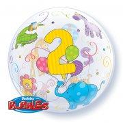 Bubble Ballon à Plat 2 Ans