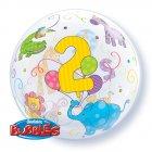Bubble Ballon H�lium 2 Ans