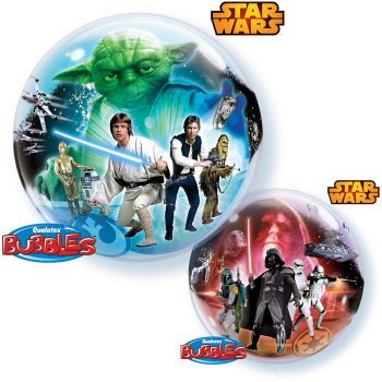Bubble Ballon à Plat Star Wars