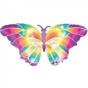 Ballon G�ant Papillon Rainbow