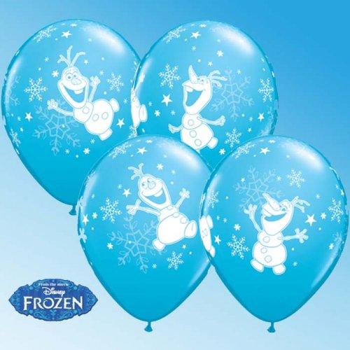 25 Ballons Olaf (Reine des Neiges)