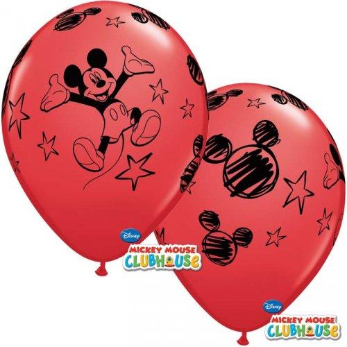 6 Ballons Mickey
