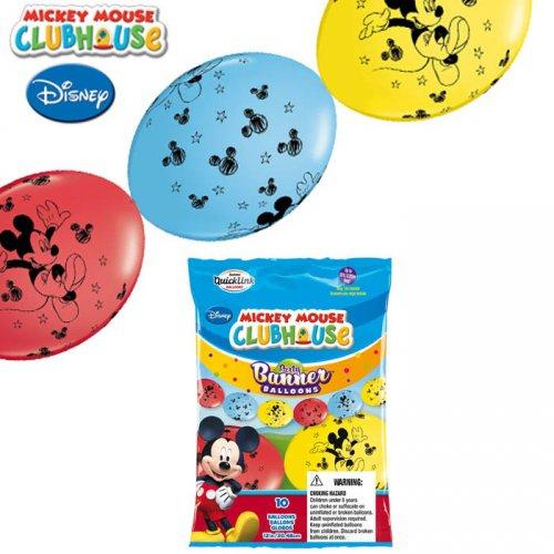 Guirlande 10 Ballons Mickey