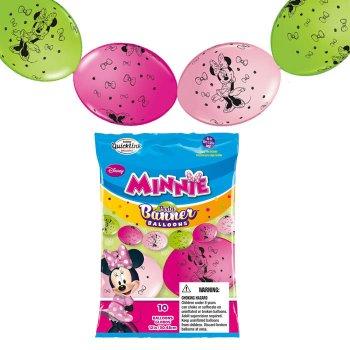 Guirlande 10 Ballons Minnie