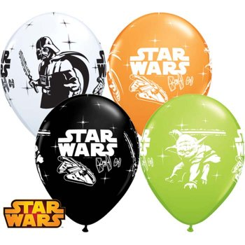 6 Ballons Star Wars