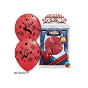 6 Ballons Spiderman