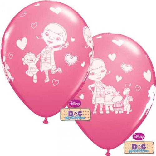 6 Ballons Dr la Peluche