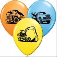 25 Ballons Chantier de Construction