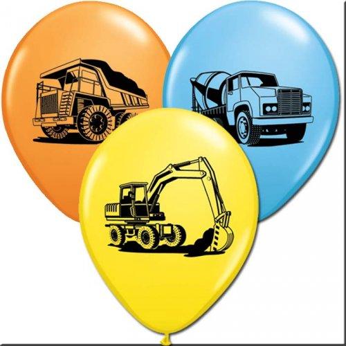 25 Ballons Chantier de Construction