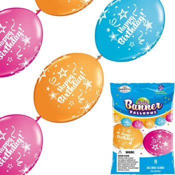 Guirlande Ballons Happy Birthday