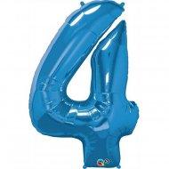 Ballon Géant Chiffre 4 Bleu