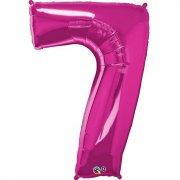 Ballon G�ant Chiffre 7 Rose