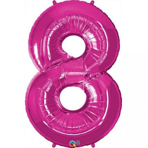 Ballon Géant Chiffre 8 Rose