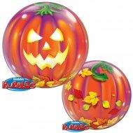 Bubble Ballon Gonflé à l'Hélium Citrouille Lanterne