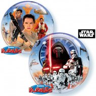 Bubble Ballon Hélium Star Wars VII