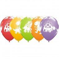 6 Ballons Dinos