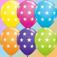 6 Ballons Etoiles