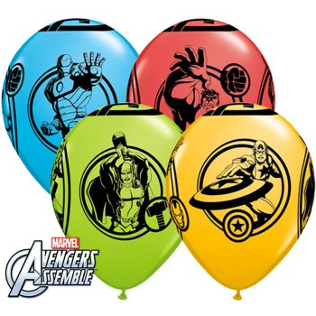 25 Ballons Avengers