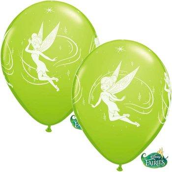 6 Ballons Fée Clochette