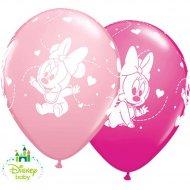 25 Ballons Minnie Baby