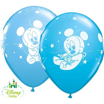 25 Ballons Mickey Baby
